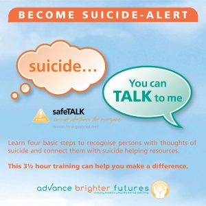 safeTALK Become Suicide - Alert
